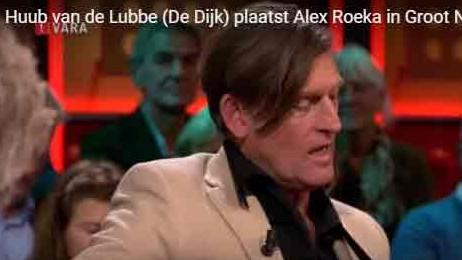 Alex Roeka in het Groot Nederlands Songbook van DWDD