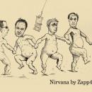 Zapp4 speelt lp Nevermind van Nirvana