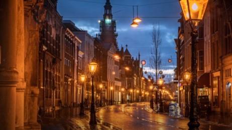 De Nieuwe Oude Stad (ode aan Leiden; voor PS Theater)