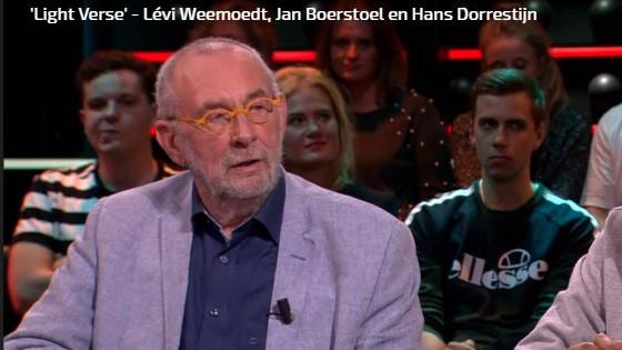 Light verse: Hans Dorrestijn in DWDD