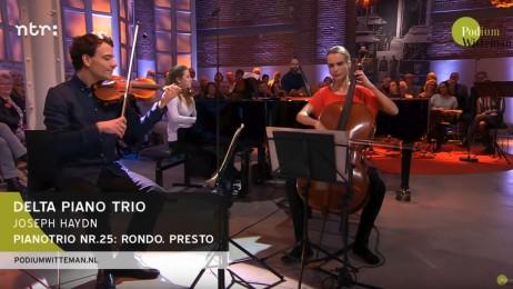 Vera Kooper met Delta Piano Trio in Podium Witteman